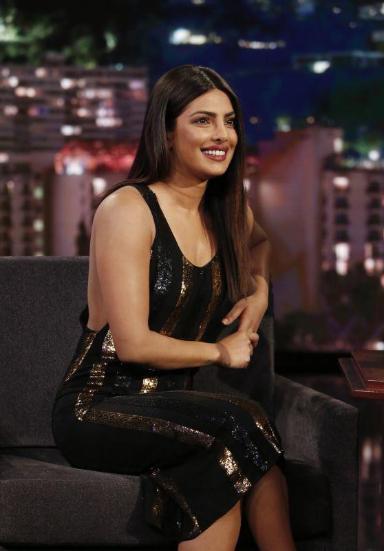 Priyanka Chopra Appeared on Jimmy Kimmel Live 05/09/2017