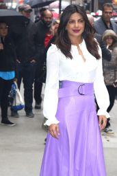 Priyanka Chopra - Arriving at the Good Morning America Studios in NYC 05/22/2017