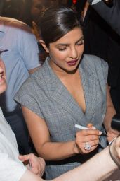 Priyanka Chopra at the Borchardt Restaurant in Berlin 05/30/2017