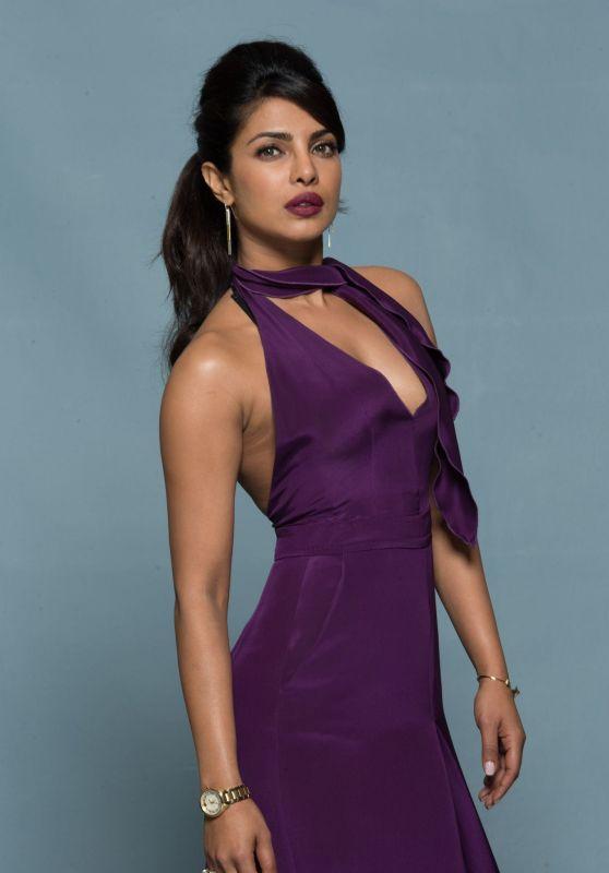 Priyanka Chopra - Baywatch Promoshoot 2017