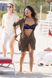 Priyanka Chopra in Bikini on the Beach in Miami 05/12/2017