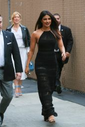 Priyanka Chopra is Stylish - Arriving at Jimmy Kimmel Live 05/09/2017