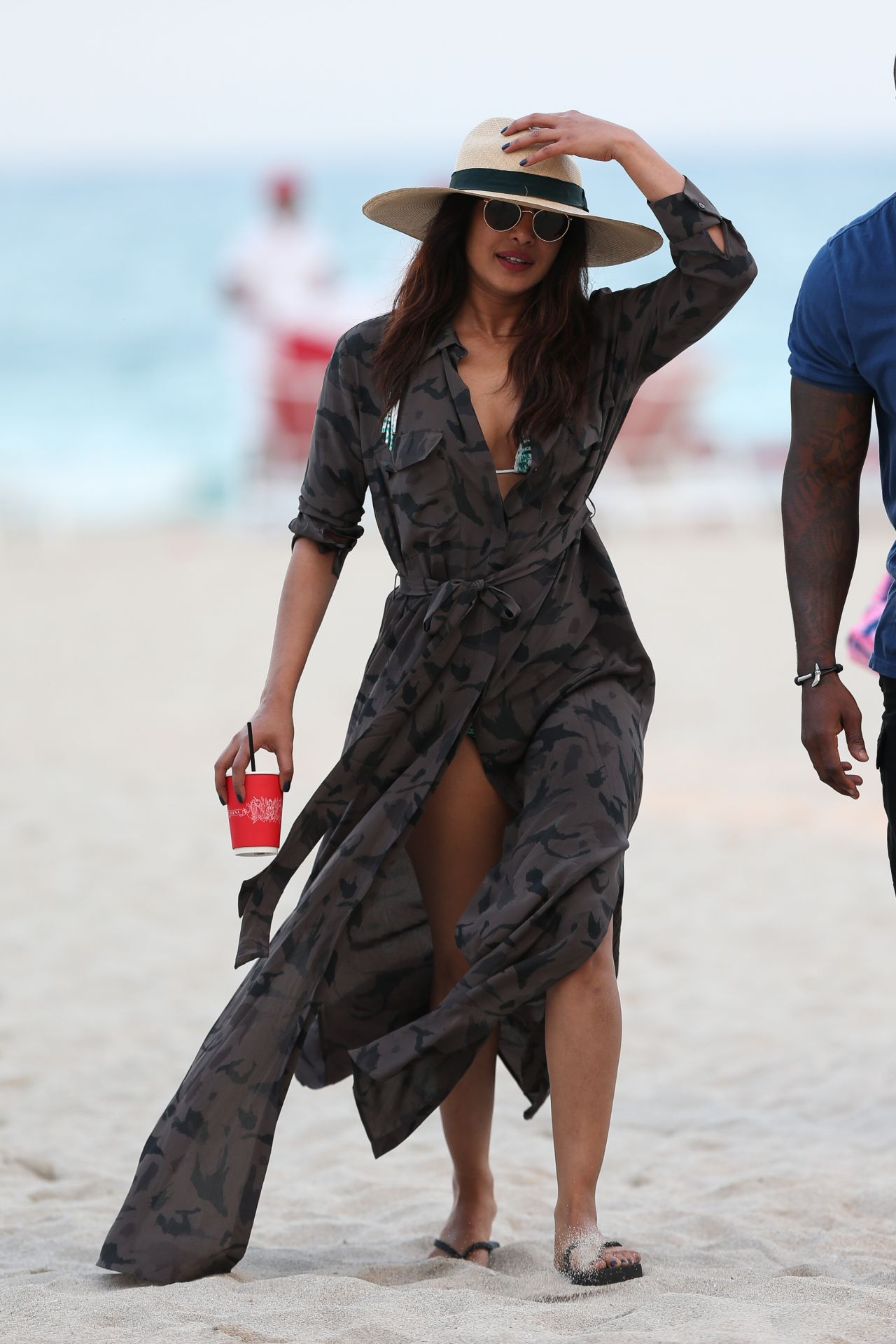 Priyanka Chopra on the Beach in Miami Beach 05/14/2017 Priyanka Chopra 2017 May