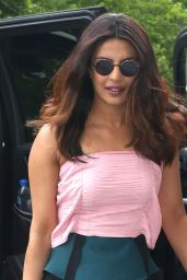 Priyanka Chopra Style - Outside Live With Kelly and Ryan 05/23/2017