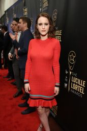 Rachel Brosnahan – Lucille Lortel Awards in New York City 05/07/2017