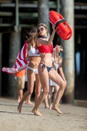 Rachel McCord Shows Off Her Bikini Body - Santa Monica Beach 05/28/2017