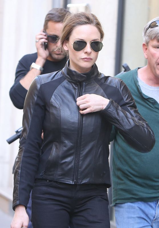 "Rebecca Ferguson - Leave ""Mission Impossible 6"" Shooting in Paris, May 2017"