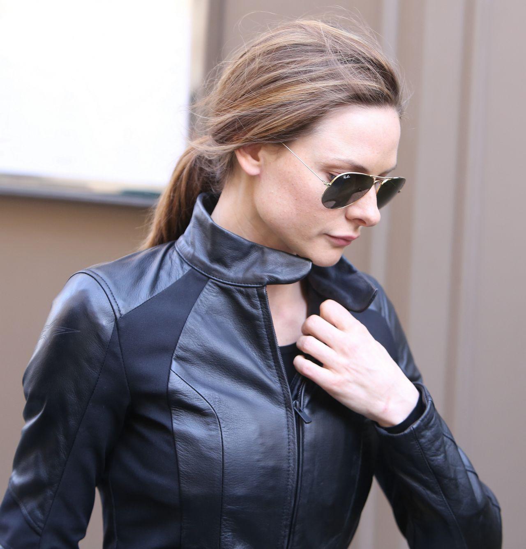 "Rebecca Ferguson - Leave ""Mission Impossible 6"" Shooting ..."