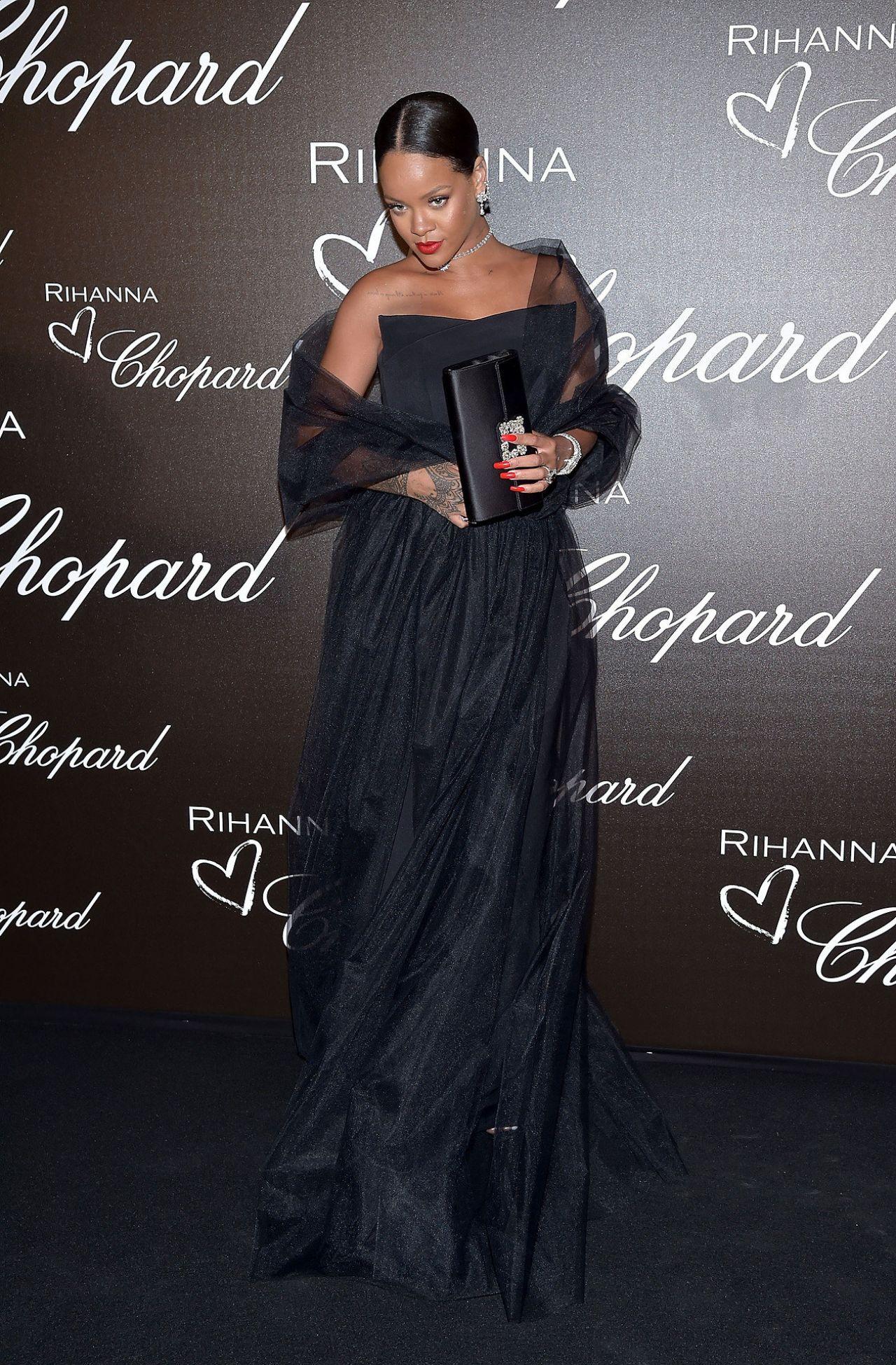 Rihanna At Chopard Dinner Cannes Film Festival 05 18 2017