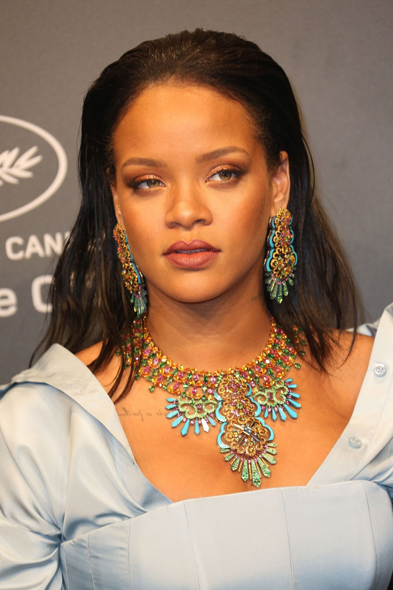 Rihanna at Chopard Space Party in Cannes, France 05/19/2017 Rihanna
