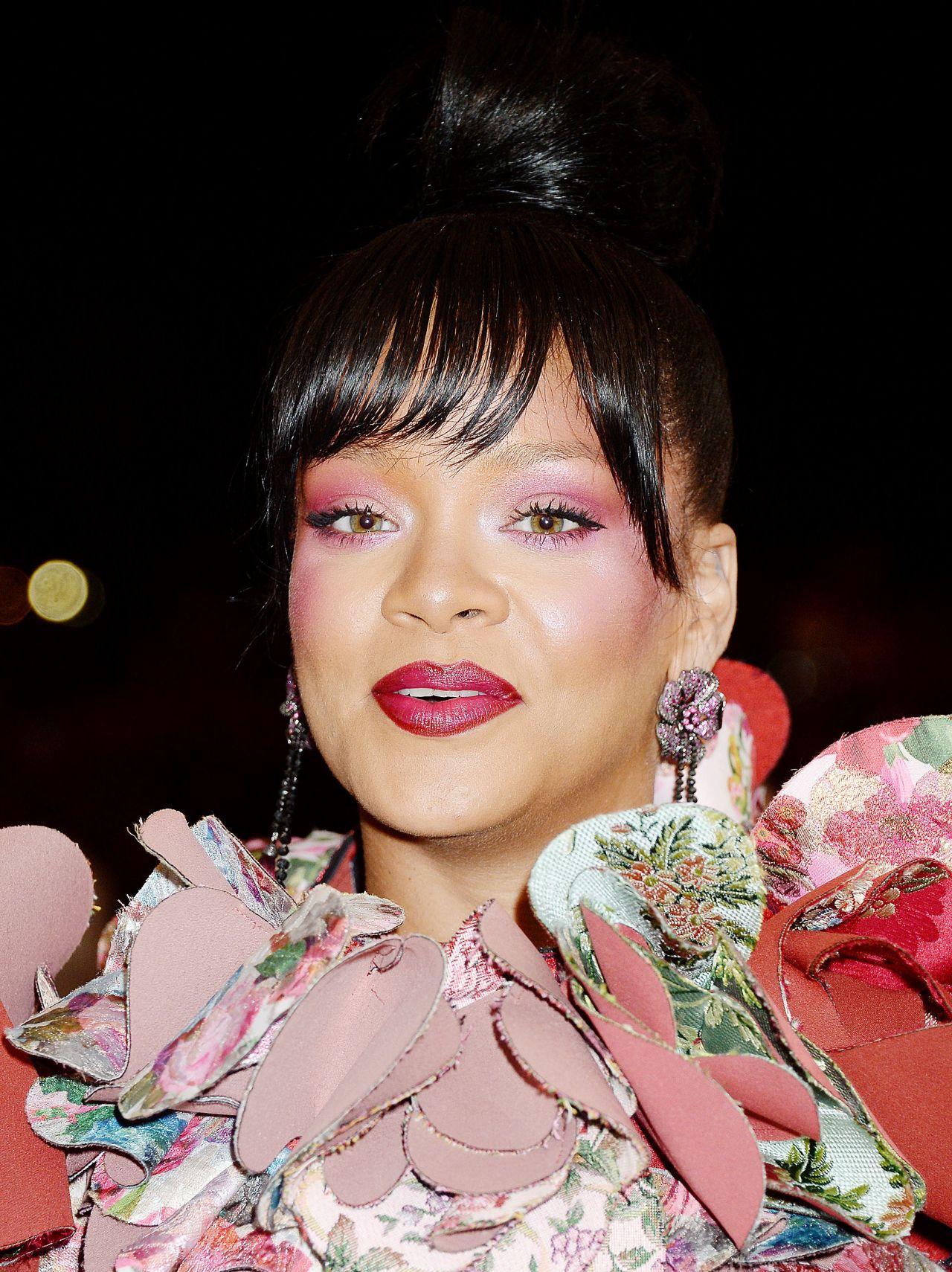 Rihanna at MET Gala in New York 05/01/2017 Rihanna