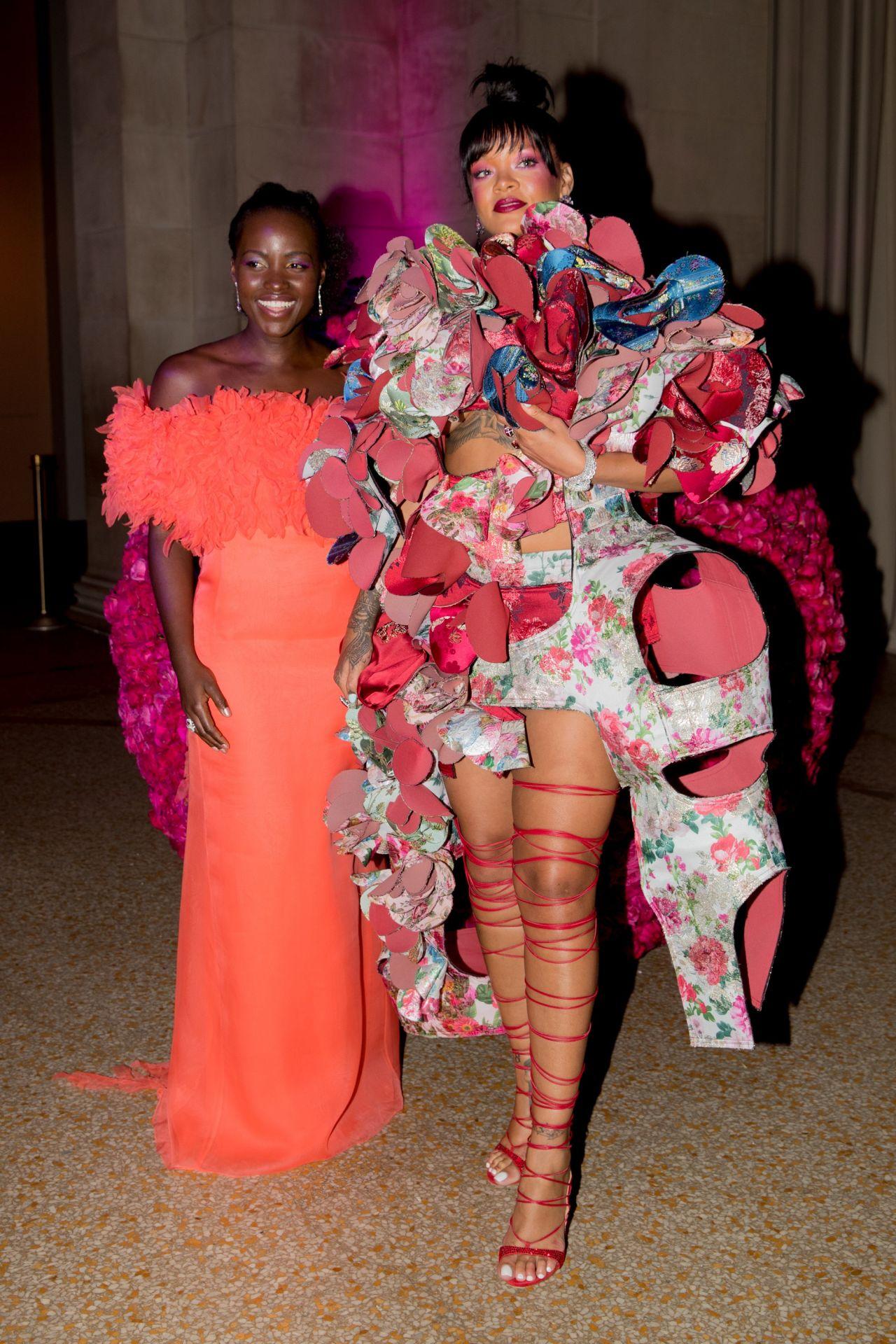 Rihanna At Met Gala In New York 05 01 2017