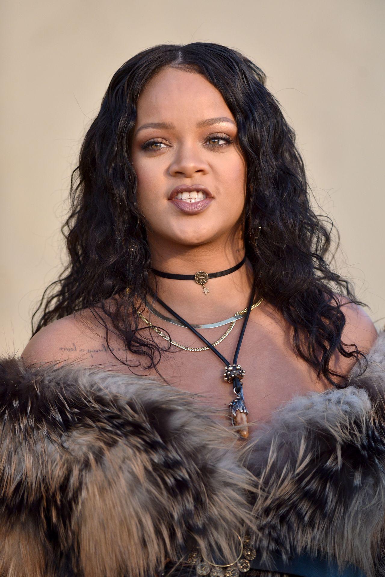 Rihanna Christian Dior Cruise 2018 In La 05 11 2017