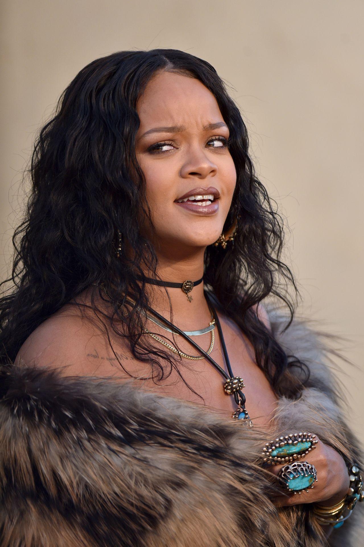 Rihanna – Christian Dior Cruise 2018 in LA 05/11/2017
