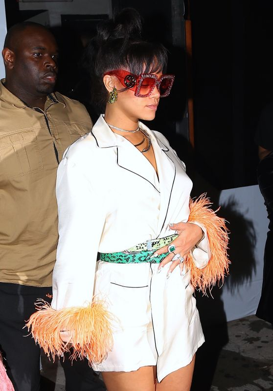 Rihanna - Leaves the MET Gala After Party Held at