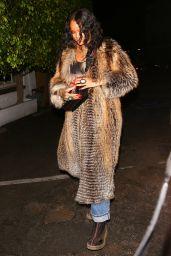 Rihanna Night Out - Giorgio Baldi Italian Restaurant in Santa Monica 05/11/2017