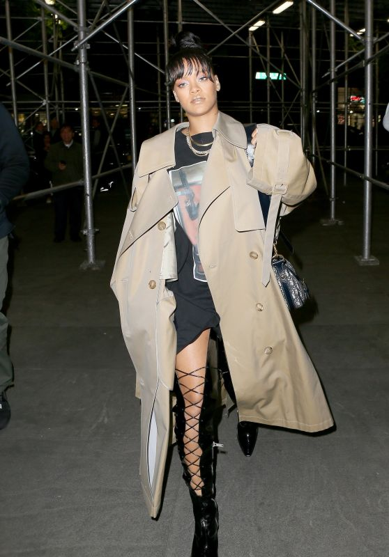 Rihanna - Night Out in NYC 05/03/2017