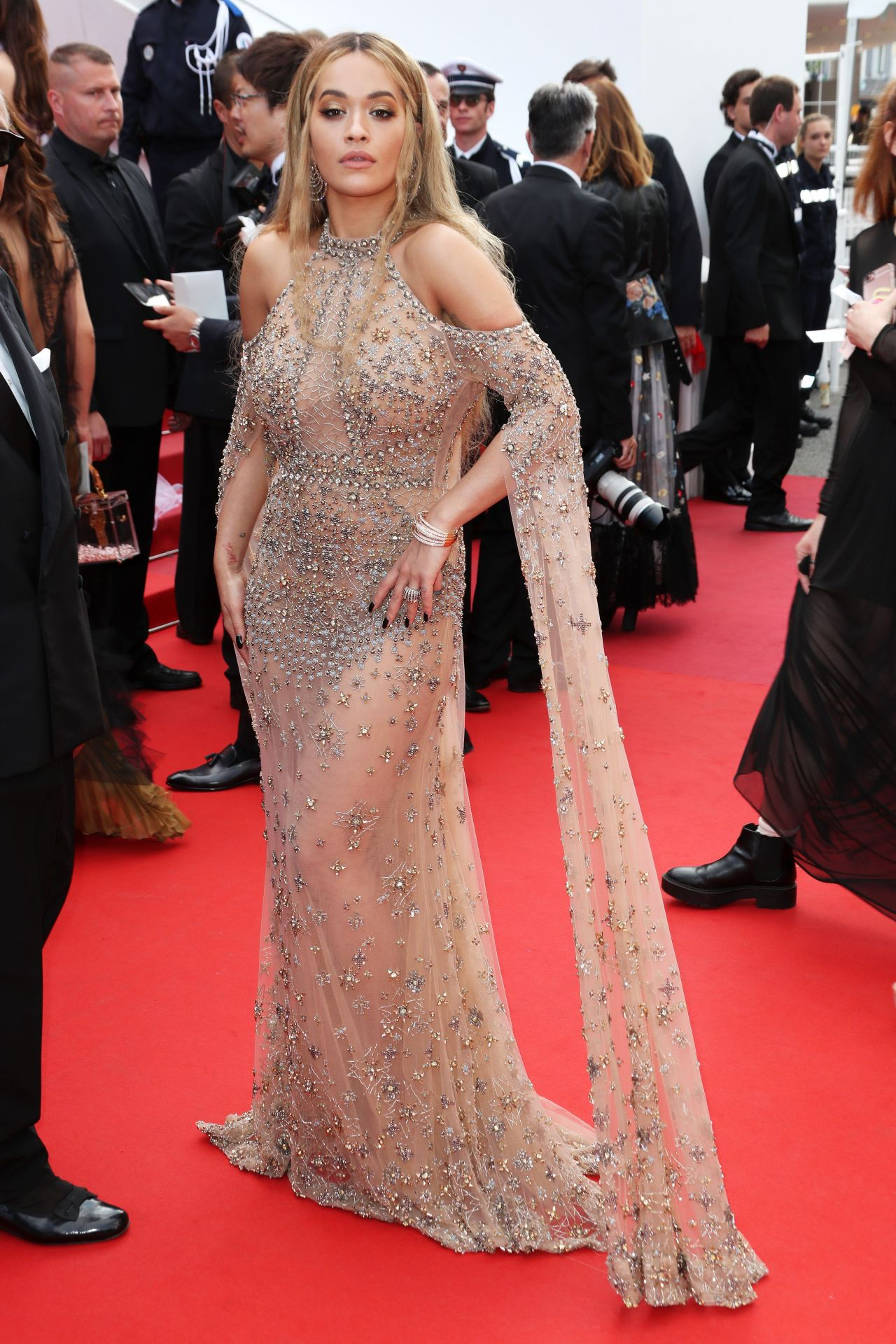 Watch Rita ora at anniversary soiree in 2019 cannes video