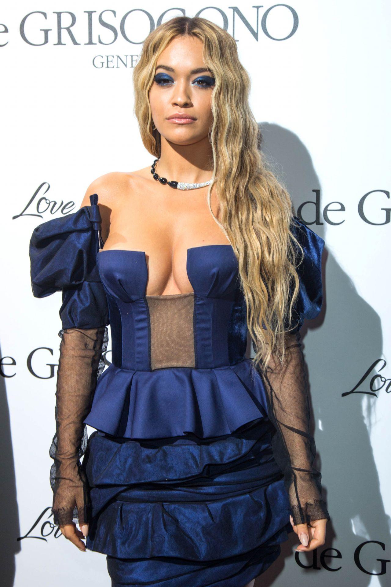Rita Ora Fashion Shoot Photos: Rita Ora At De Grisogono Party