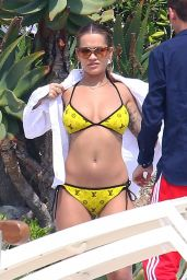 Rita Ora in a Bikini at Hotel du Cap-Eden-Roc in Antibes, France 05/25/2017