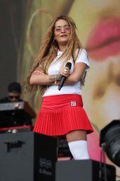 Rita Ora Performs Live at BBC Radio 1