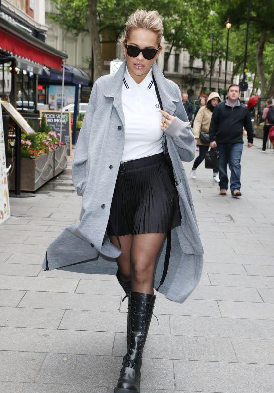 Rita Ora Street Fashion - Global House in London 05/19/2017