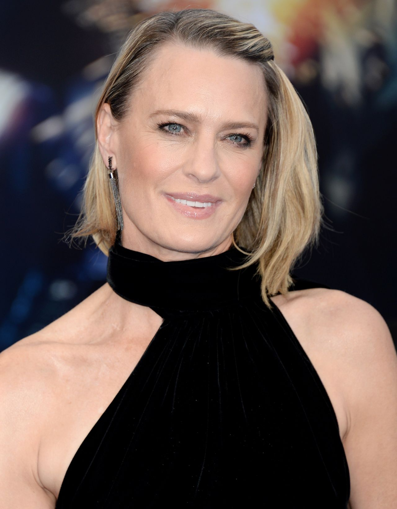 Robin Wright On Red Carpet Wonder Woman Movie Premiere