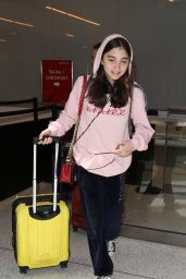 Rowan Blanchard Arrives at LAX Airport in LA 05/08/2017