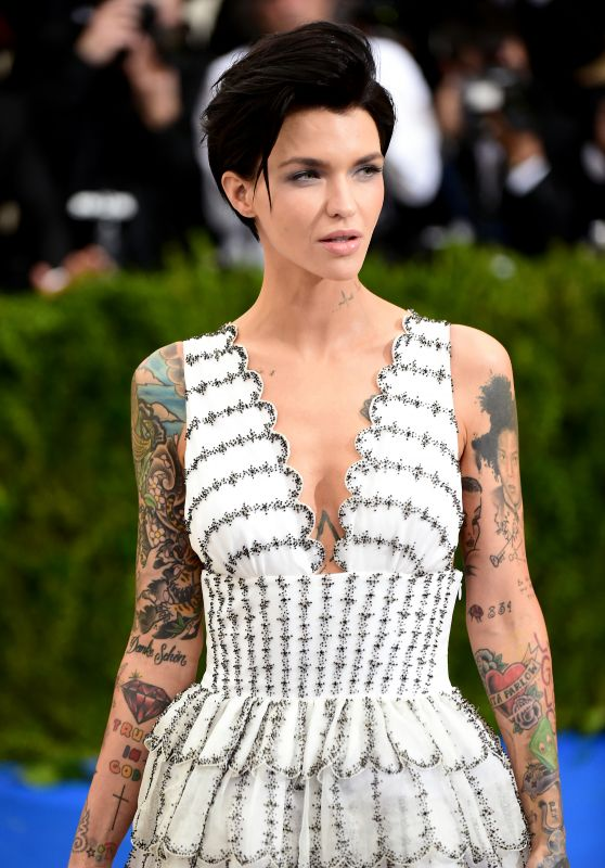 Ruby Rose at MET Gala in New York 05/01/2017