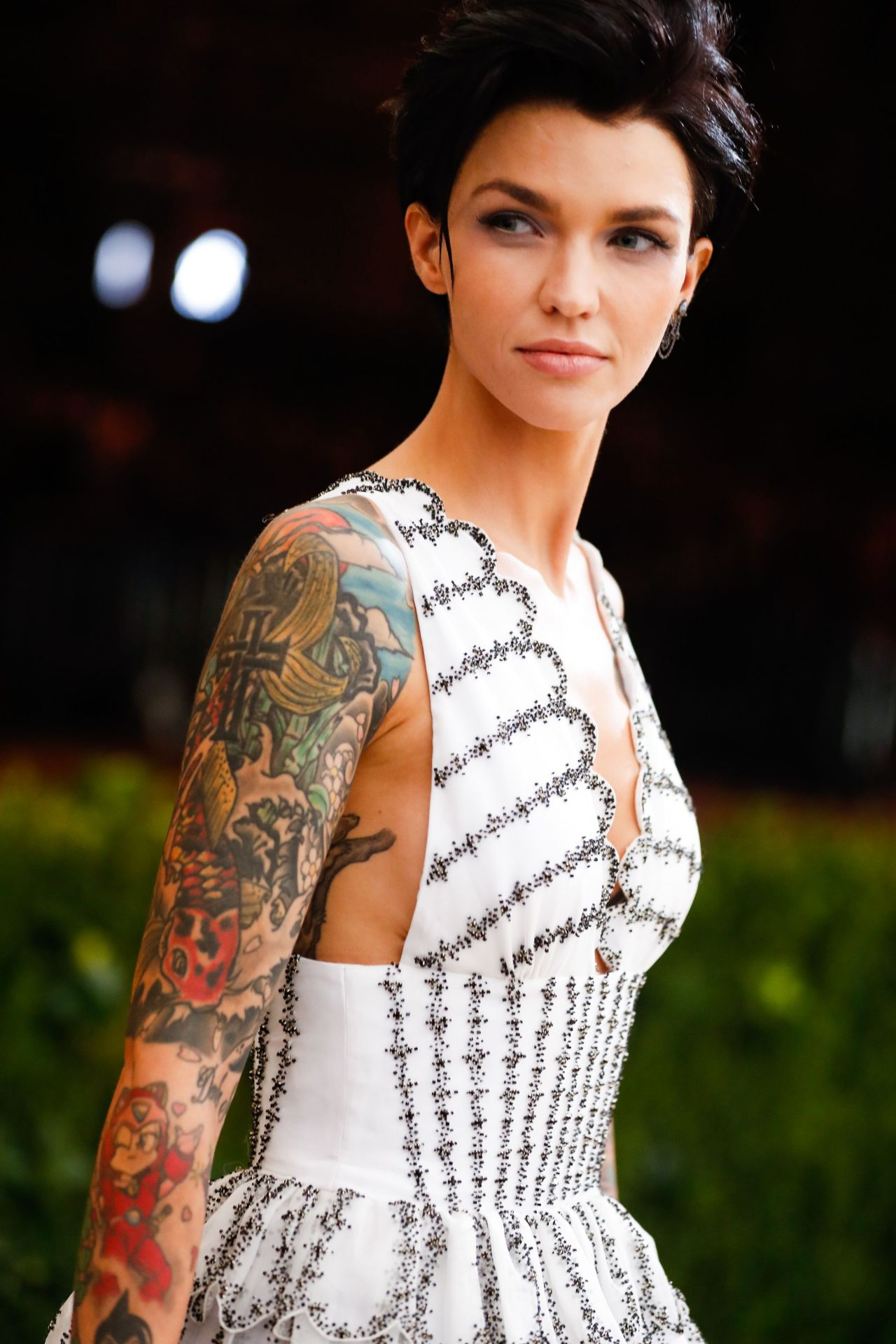 Ruby Rose at MET Gala in New York 05/01/2017