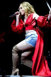 Sabrina Carpenter Performing at the O2 Arena, London, 05/13/2017