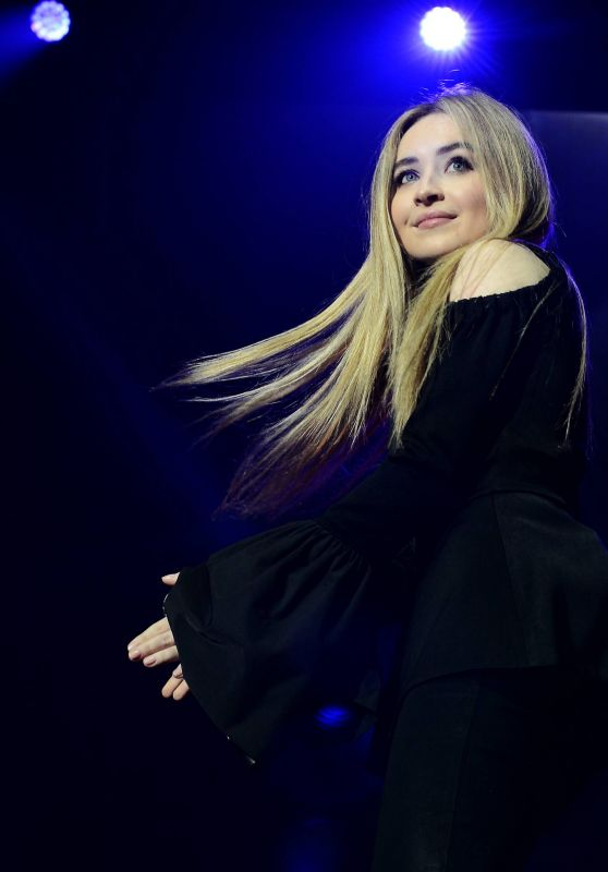 Sabrina Carpenter Performs at 3Arena in Dublin, Ireland 05/08/2017
