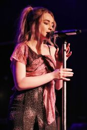 Sabrina Carpenter - Performs Live With Her Band in Milano, Italy 05/22/2017