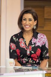 "Saira Khan - ""Loose Women"" TV Show in London 05/15/2017"