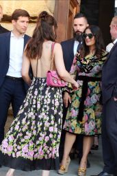 Salma Hayek – 2018 Gucci Cruise in Florence, Italy 05/29/2017