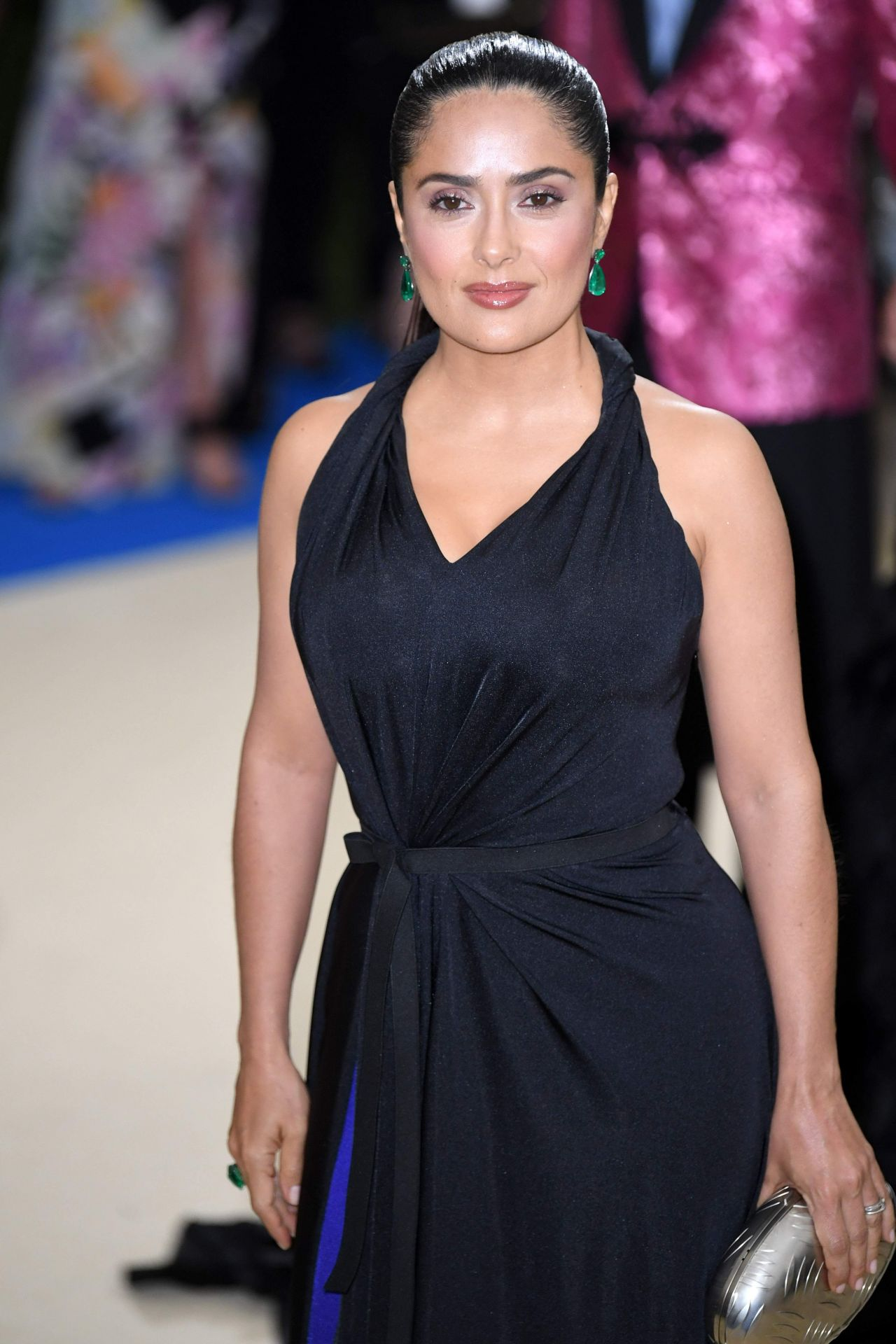 Salma Hayek At Met Costume Institute Gala In New York 05