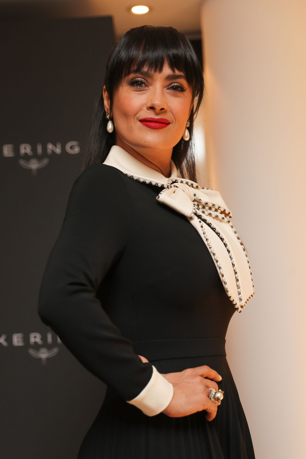 Salma Hayek at the Kering Women in Motion Awards - Cannes ... Salma Hayek