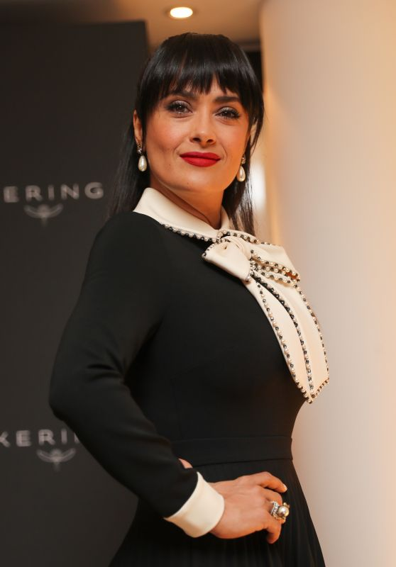 Salma Hayek at the Kering Women in Motion Awards - Cannes Film Festival 05/23/2017