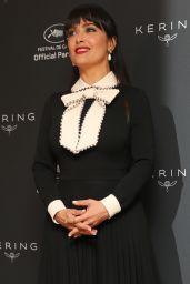 Salma Hayek at the Kering Women in Motion Awards - Cannes Film Festival 05/23/2017