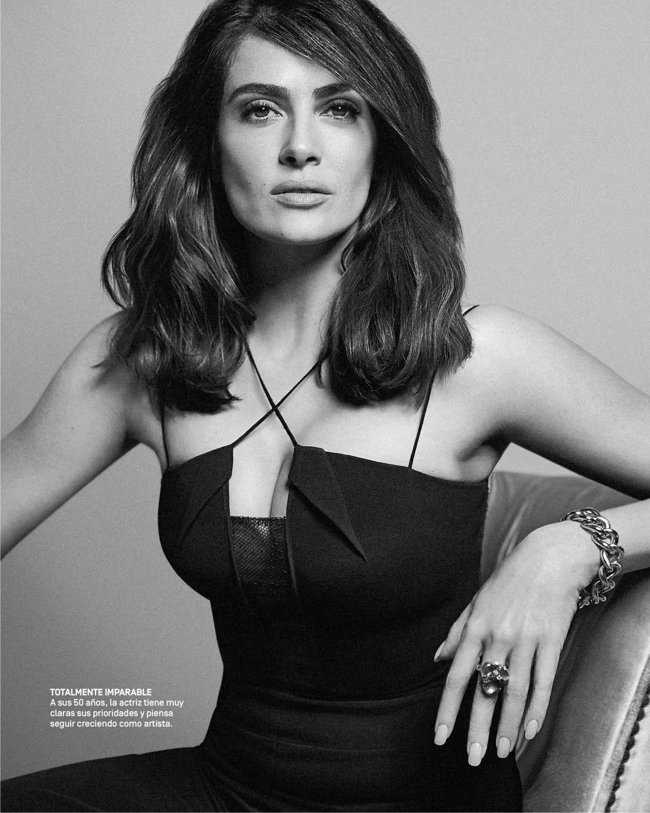 Salma Hayek - Quin Magazine May 2017 Issue-7688