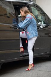 Sam Faiers - Leaving the Whiteleys Centre in London 05/07/2017