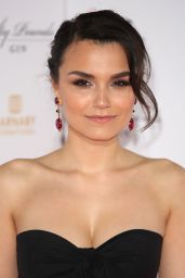 "Samantha Barks on Red Carpet - ""Interlude in Prague"" Premiere in London 05/11/2017"