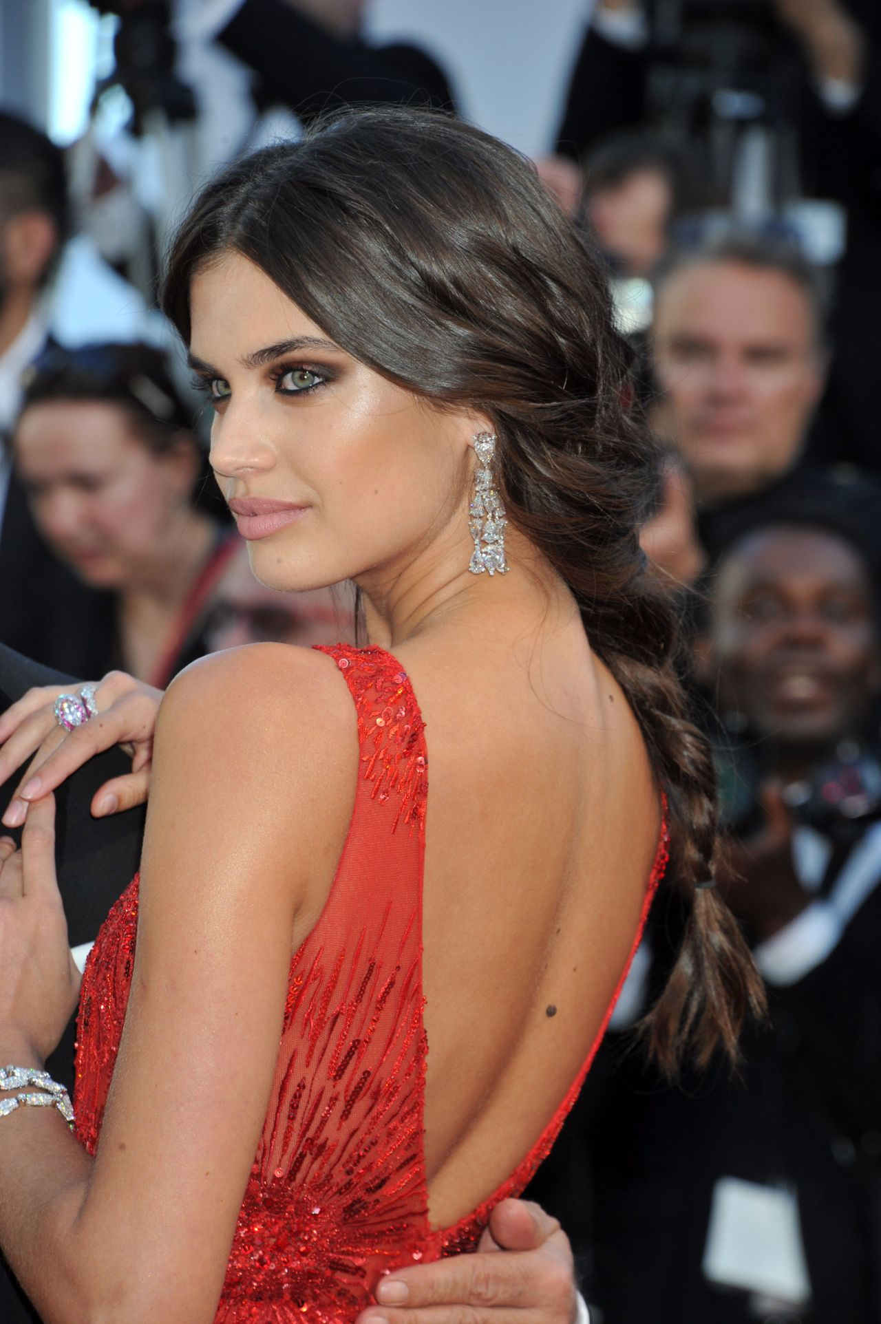 Sara Sampaio 70th Cannes Film Festival Opening Ceremony