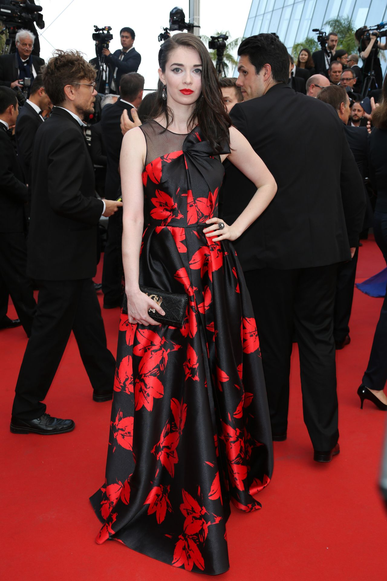 Sarah barzyk twin peaks premiere at cannes film festival