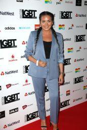 Scarlett Moffatt – British LGBT Awards in London, UK 05/12/2017