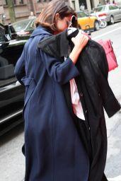Selena Gomez  – Arriving at her Hotel Ahead of the MET Gala in NYC 05/01/2017