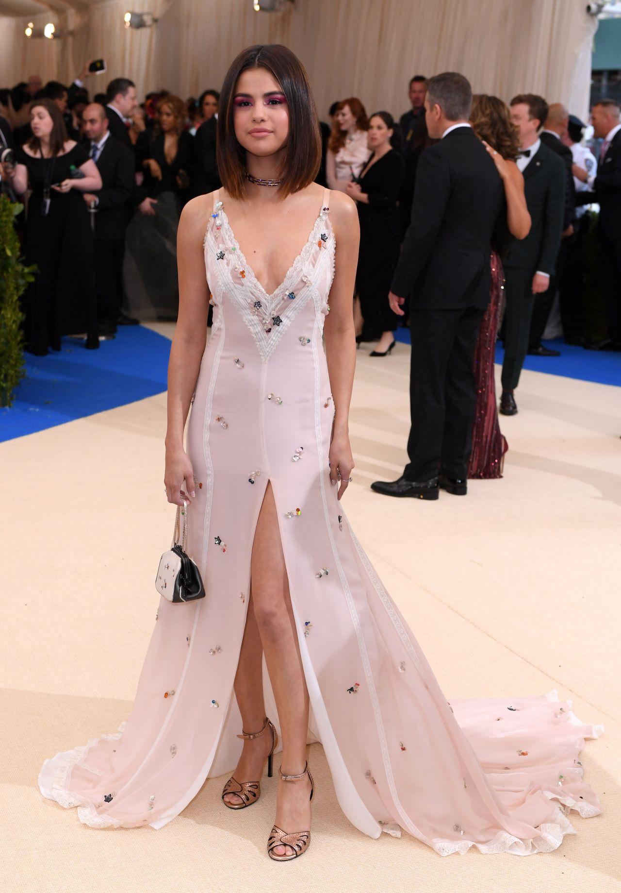 Selena Gomez Met Gala At The Metropolitan Museum Of Art