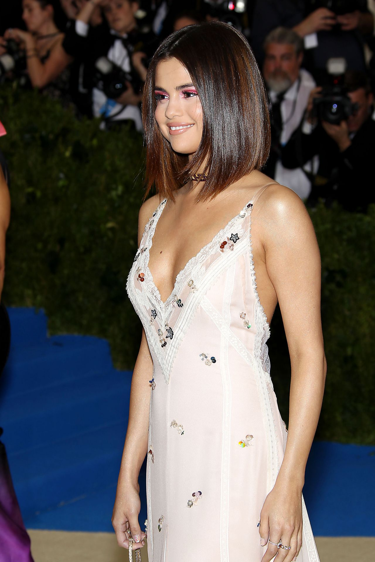 Selena Gomez Met Gala At The Metropolitan Museum Of Art