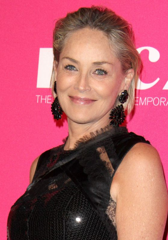 Sharon Stone – MOCA Gala in Los Angeles 04/29/2017