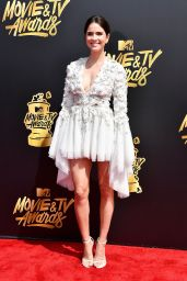 Shelley Hennig – MTV Movie and TV Awards in Los Angeles 05/07/2017